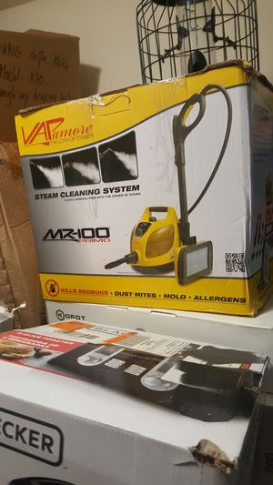 Brand new Vapamore MR-100 Primo Steam Cleaner for Sale in Houston, TX