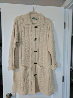 100% wool women cardigan. Made in Ireland. for Sale in Ruskin, FL