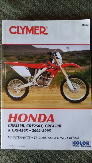 Honda Dirt Bike Maintenance Manual For multiple Makes and Models! for Sale in Carson, CA