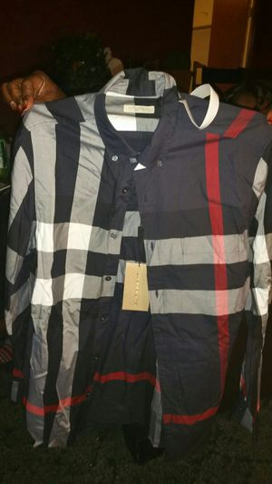 NWT Burberry Brit Button Up for Sale in Portland, OR