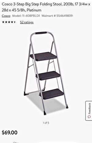 Cosco Large Step Folding Ladder for Sale in Lakeside, CA