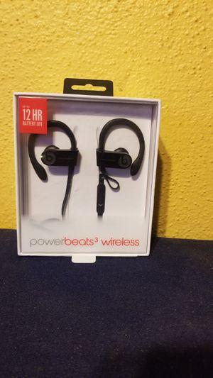 Power Beats 3 wireless headphones for Sale in Whittier, CA