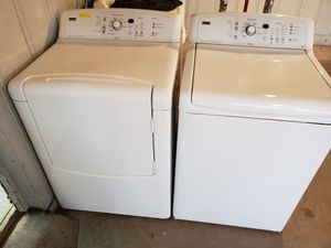 Washer and dryer Kenmore elite for Sale in Houston, TX