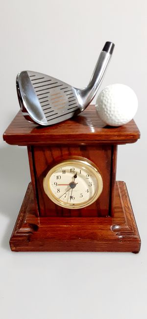 GOLF CLOCK ALARM WORK GREAT COME for Sale in Houston, TX