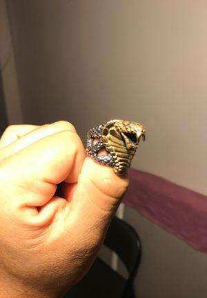 King cobra ring size 9 1/2 for Sale in Gardena, CA