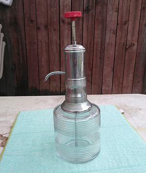 1940s Antique glass dispenser for Sale in Lynwood, CA