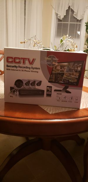 CCTV Security Recording system for Sale in Raleigh, NC