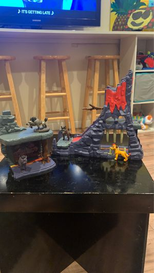 Lion king and the hyenas play set for Sale in Stockton, CA