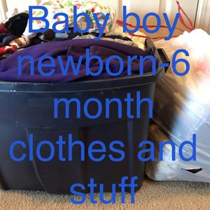 Baby Boy Newborn -6 Months Clothes for Sale in Beaverton, OR
