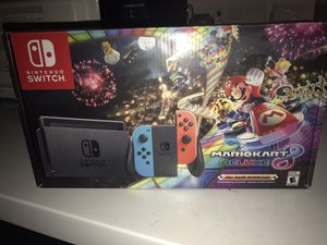 Nintendo Switch + Mario Kart 8 Bundle BRAND NEW IN BOX for Sale in Orlando, FL