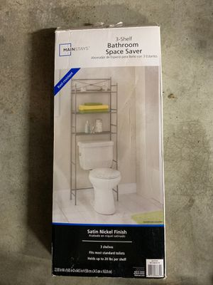 Bathroom shelves space saver for Sale in Federal Way, WA