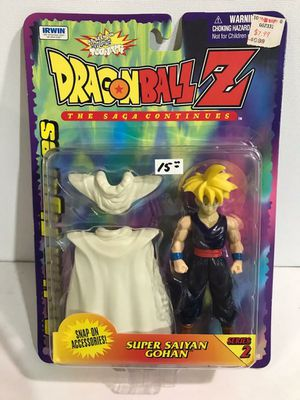 NEW Vintage Toy Collectible DRAGONBALL Z Saga Continues SUPER SAIYAN GOHAN Series 2 Collectible Figure with Accessories for Sale in Kingsport, TN