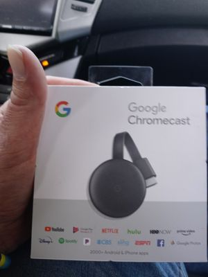 Google chromecast for Sale in Shadeland, IN
