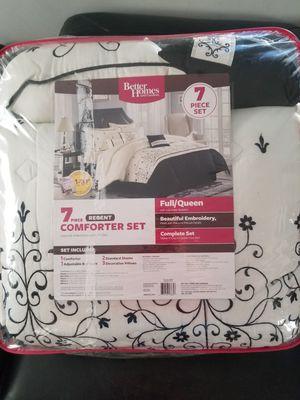 New full/queen comforter set 7pcs for Sale in Phoenix, AZ