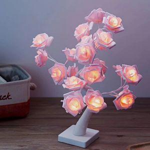 Rose tree lamp for your room prettier for Sale in Dallas, TX