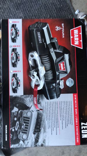 Warn winch zeon s10 for Sale in Englewood, CO