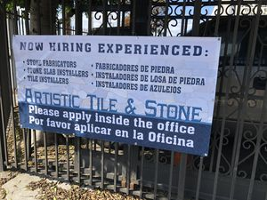 Artistic tile and stone hiring!!! for Sale in Los Angeles, CA