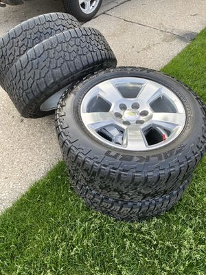 "20"" Inch GMC 6 Lug Chevy Wheels and Tires GM Rims for Sale in Worth, IL"