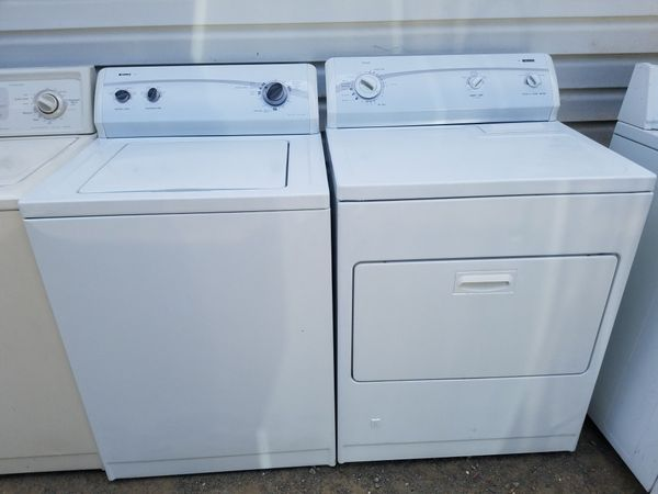 Kenmore washer and gas dryer