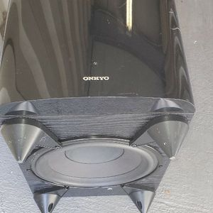 onkyo subwoofer speaker. work for Sale in Brandon, FL