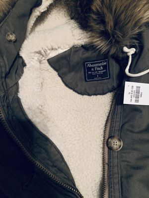 Brand new, NEVER worn with tag - Parka Jacket from Abercrombie for Sale in Burlingame, CA