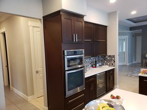 Kitchen cabinets and quarts counter top for Sale in Mill Creek, WA