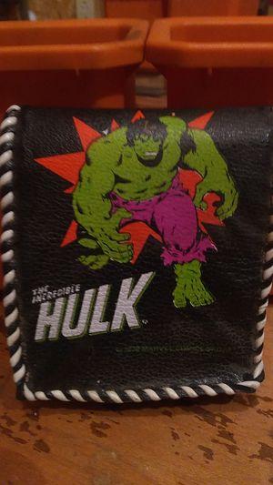 Vintage Incredible Hulk vinyl wallet for Sale in Columbia, PA