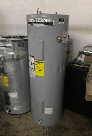 A.O. Smith Signature 50-Gallon Tall 6-year Limited 4500-Watt Double Element Electric Water Heater Model #E6-50H45DV for Sale in Las Vegas, NV