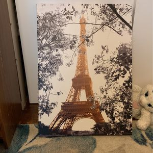 Paris Canvas Photo for Sale in Portland, OR