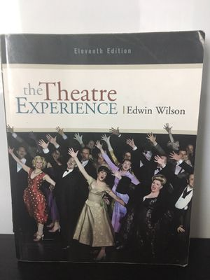 The theatre experience textbook for Sale in Paramount, CA