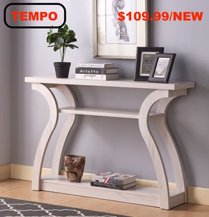 Console Table, Whitewash for Sale in Fountain Valley, CA
