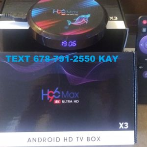 Ultra Fast 4k & 8k Android UHD TV Box! More performance than a stick! for Sale in Forest Park, GA