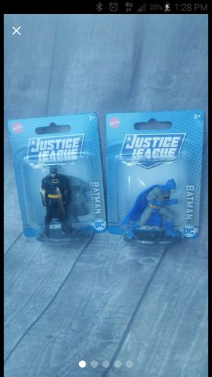 Two Mattel DC Batman Micro Action Figures for Sale in Lake Elsinore, CA