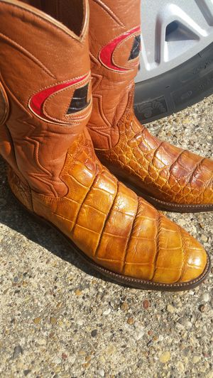 Alligator belly men's boots for Sale in Garland, TX
