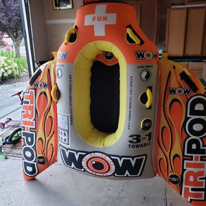 WOW 3 in 1 towable tube for Sale in Camano, WA
