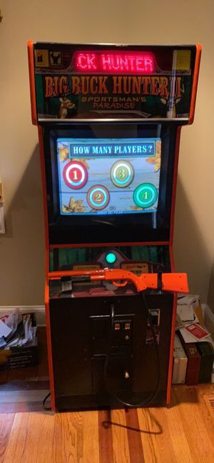 Big Buck Hunter II Arcade Game for Sale in Lake Forest, IL