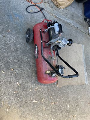 Air compressor Motor broken for parts for Sale in Westland, MI