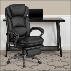 new High Back Black LeatherSoft Executive Reclining Ergonomic Swivel Office Chair for Sale in Chicago, IL