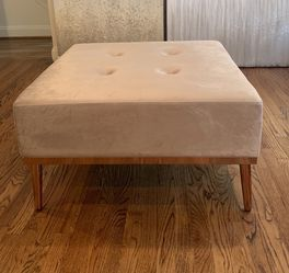 Square Beige Ottoman Excellent Condition for Sale in Pittsburgh,  PA