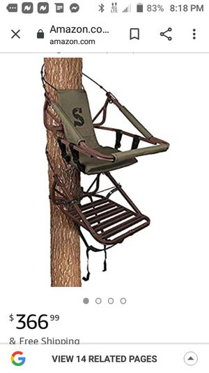 Summit Viper Tree Climbing Stand for Sale in Orange, TX