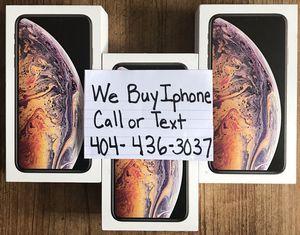 iPhone X_Max for Sale in Atlanta, GA