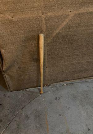 Polished wooden baseball bat 100 or best offer for Sale in San Jose, CA