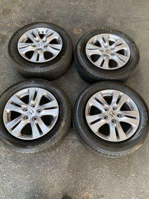Honda Accord wheels 215/60/R16 for Sale in Carson, CA