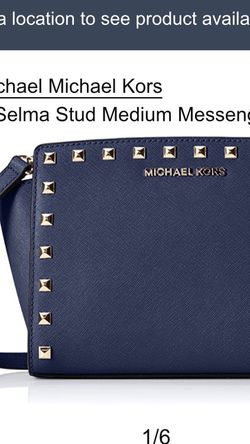 Michael Kors Selma Stud Medium Messenger Bag for Sale in Arlington,  VA