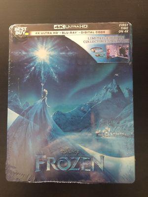 Frozen 4K+BD+Digital Code Steelbook for Sale in Garden Grove, CA