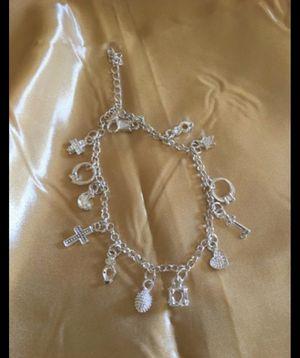 Valentine's Day charm bracelet , Sterling silver , $15 for Sale in Burbank, CA