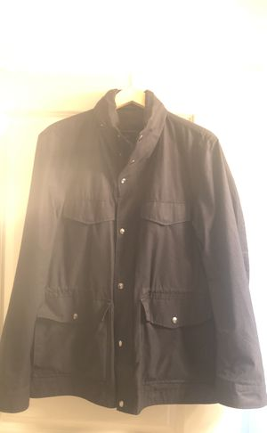 Men's Banana Republic black shirt jacket for Sale in McLean, VA