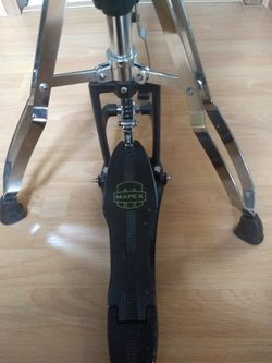 Mapex Armory Series Hi Har Stand, chrome plated for Sale in Wenatchee,  WA