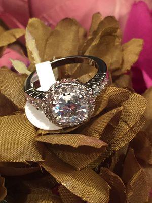18k White Gold Filled Wedding Engagement Ring Size 5,6,9,10 for Sale in Nashville, TN