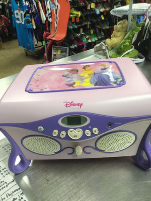 Disney Princess CD Player, CD Holder & Jewelry Box for Sale in Matawan, NJ
